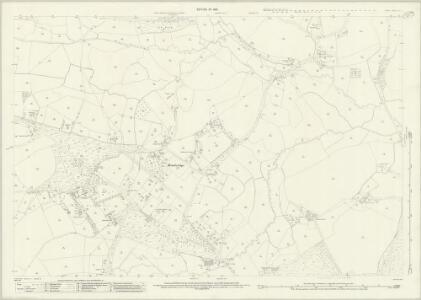 Surrey XVI.4 (includes: Chobham; Horsell) - 25 Inch Map
