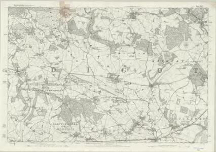 Monmouthshire XXIV - OS Six-Inch Map