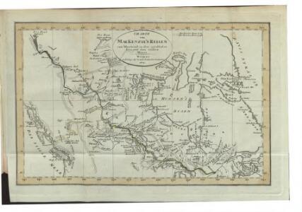 Charte von Mackenzie's Reisen von Montreal zu dem nördlichen Eis- und dem stillen Meere