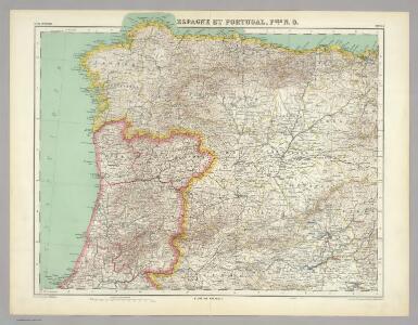 Espagne et Portugal.  Flle. N.O.