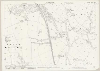 Cheshire XXV.14 (includes: Aston; Dutton) - 25 Inch Map