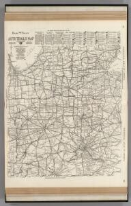 AutoTrails Map, Eastern Illinois, Southern Michigan, Indiana, Western Ohio, Northern Kentucky.