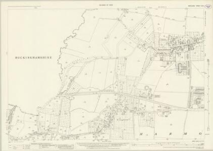 Middlesex XIX.3 (includes: Iver; Yiewsley and West Drayton) - 25 Inch Map