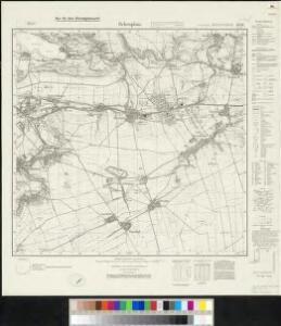 Messtischblatt 4536 : Schraplau, 1938 Schraplau