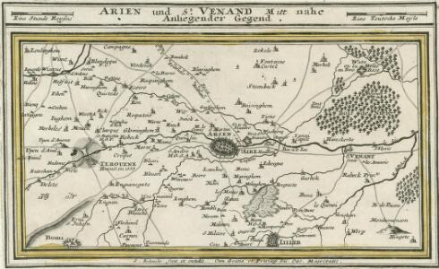 Arien und St. Venand Mitt nahe Anliegender Gegend