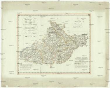 Charte von Maehren und dem oesterreichischen Antheile von Schlesien