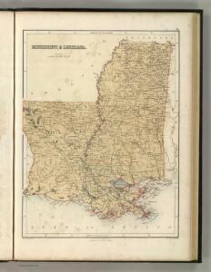 Mississippi & Lousiana.