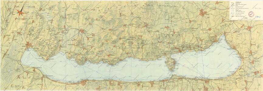 Balaton turistická mapa