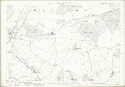 Gloucestershire X.7 (includes: Bromsberrow; Donnington; Eastnor; Ledbury Rural) - 25 Inch Map