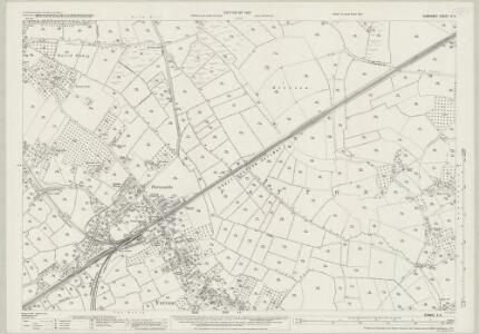 Somerset X.4 (includes: Yatton) - 25 Inch Map