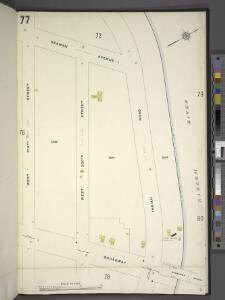 Manhattan, V. 12, Plate No. 77 [Map bounded by Seaman Ave., Harlem River, Broadway, W. 219th St.]