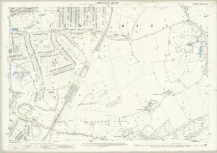 London (Edition of 1894-96) CLVIII (includes: Croydon St John The Baptist) - 25 Inch Map