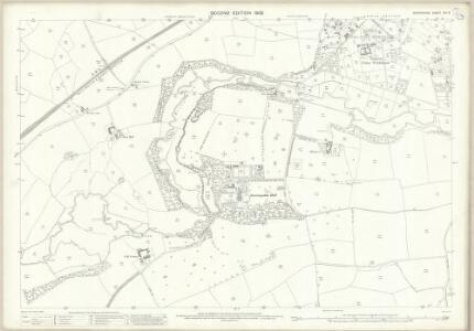Shropshire XVI.5 (includes: Market Drayton; Moreton Say; Sutton Upon Tern; Tyrley) - 25 Inch Map