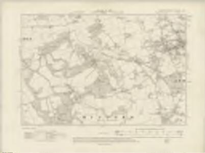 Hampshire & Isle of Wight LXXXVIII.NW - OS Six-Inch Map