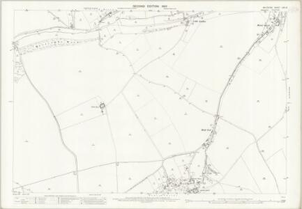 Wiltshire LXX.10 (includes: Bower Chalke; Broad Chalke; Ebbesbourne Wake) - 25 Inch Map