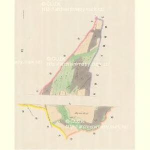 Kamitz (Kamenka) - m1142-1-006 - Kaiserpflichtexemplar der Landkarten des stabilen Katasters