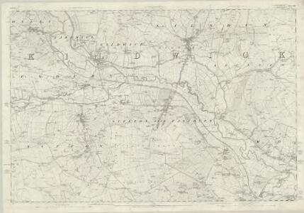 Yorkshire 185 - OS Six-Inch Map