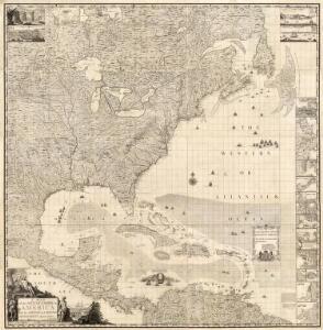 Composite: British Empire in America.