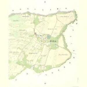 Uschau - c8276-1-001 - Kaiserpflichtexemplar der Landkarten des stabilen Katasters