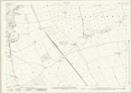 Durham XLII.5 (includes: Bishop Auckland; Etherley; Evenwood And Barony) - 25 Inch Map