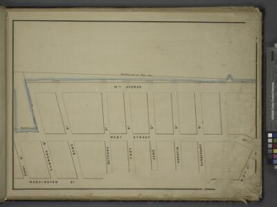 [Map bounded by Bulkhead & Pier Line 57, 10th Ave,    Washington St, Perry St; Including 13th Avenue, West Street, Hammond St, Bank    St, Bethune St, Troy St, Jane St, Horatio St, Gansevoort St]