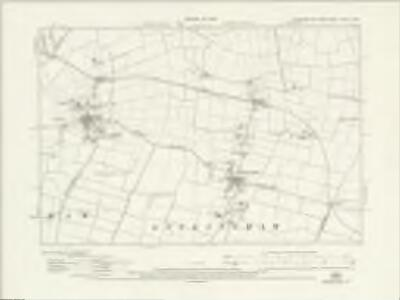 Yorkshire CCXLII.SW - OS Six-Inch Map
