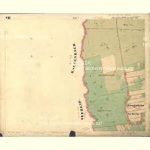 Passeken - c5642-1-010 - Kaiserpflichtexemplar der Landkarten des stabilen Katasters