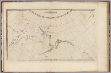 N.W. coast America, N.E. coast Asia.
