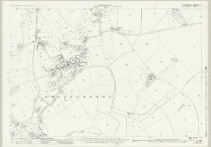 Bedfordshire XXVI.7 (includes: Pirton; Shillington) - 25 Inch Map