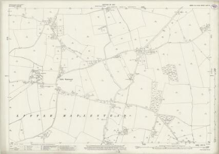 Essex (New Series 1913-) n XVI.12 (includes: Gestingthorpe; Little Maplestead; Pebmarsh) - 25 Inch Map