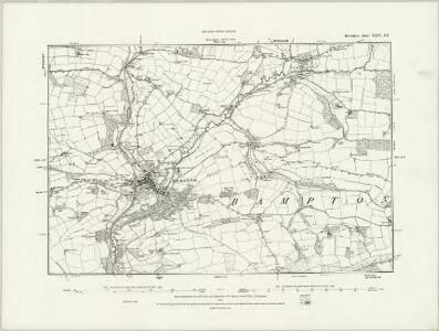 Devonshire XXIV.SW - OS Six-Inch Map