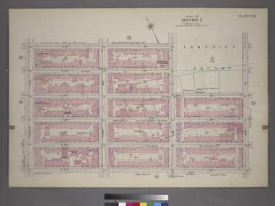 Plate 28, Part of Section 2: [Bounded by E. 9th Street, Avenue A, E. 7th Street, Avenue B, E. 14th Street and Second Avenue.]