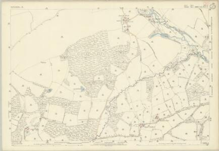Dorset XVI.4 (includes: Alderholt; Damerham) - 25 Inch Map