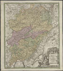 Comitatus Burgundiae tam in primarias ejus praefecturas quam in minores earundem balliviat[us] aliasq[ue] ditiones subjacentes et insertas a vicinis regionibus accurate et distincte divisi