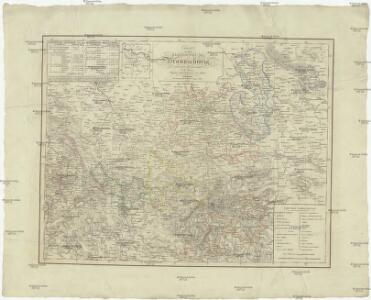 Charte von dem Herzogthume Braunschweig