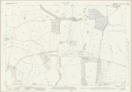 Worcestershire XLVIII.1 (includes: Croome Dabitot; Defford; Earls Croome; Hill Croome; Severn Stoke) - 25 Inch Map
