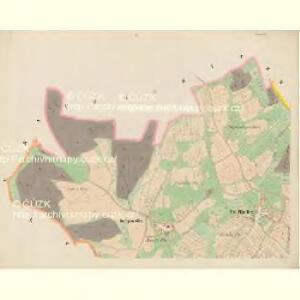 Trzitesch - c6467-2-001 - Kaiserpflichtexemplar der Landkarten des stabilen Katasters