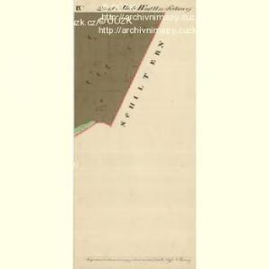 Cwalatitz - m0989-1-012 - Kaiserpflichtexemplar der Landkarten des stabilen Katasters