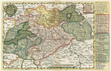 Neue Reise Charte durch Sachsen zu beqvemen Gebrauch