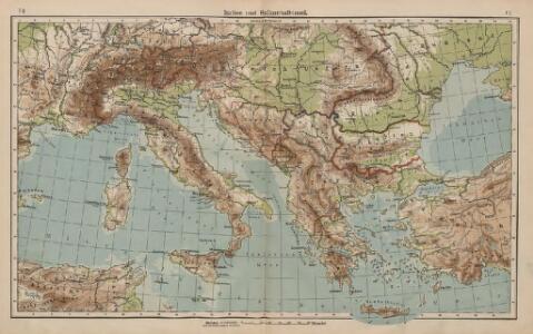 Italien und Balkanhalbinsel