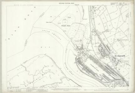 Gloucestershire LXXI.1 (includes: Bristol; Easton in Gordano) - 25 Inch Map
