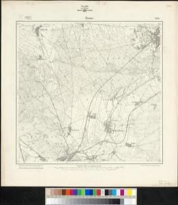 Meßtischblatt 2176 : Zinna, 1902