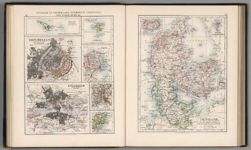 Environs of Copenhagen, Stockholm, Christiana, the Faroe Islands.  Denmark and Schleswig-Holstein.