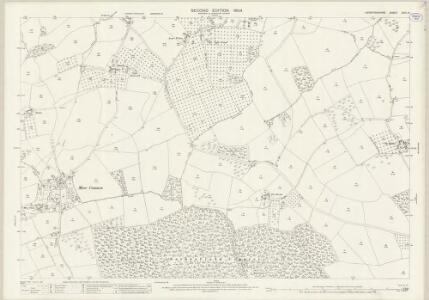 Herefordshire XVIII.14 (includes: Almeley; Dilwyn; Pembridge; Sarnesfield; Weobley) - 25 Inch Map