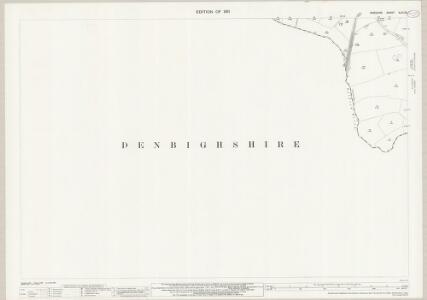 Cheshire XLVI.13 (includes: Allington; Burton; Pulford) - 25 Inch Map