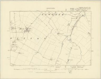 Cambridgeshire LVII.SW - OS Six-Inch Map