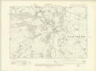 Yorkshire CXXXVI.SW - OS Six-Inch Map
