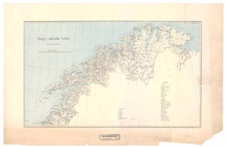 Spesielle kart nr 70c: Norges arktiske Gebet