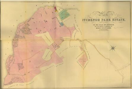 Plan of Itchenor Park Estate.