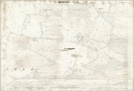 Kent XLIV.1 (includes: Frinsted; Lenham; Milstead) - 25 Inch Map